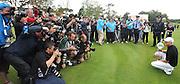 31-07-11: England's Simon Dyson, winner of  the Irish Open, graabs the media attention  at Killarney Golf and Fishing Club on Sunday. Picture: Eamonn Keogh (MacMonagle, Killarney)