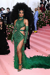 "Ciara at the 2019 Costume Institute Benefit Gala celebrating the opening of ""Camp: Notes on Fashion"".<br />