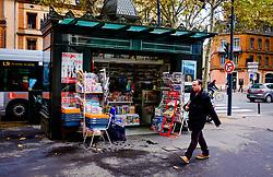 Street scene in the Boulevard Lazare Carnot, Toulouse, France<br /> <br /> (c) Andrew Wilson | Edinburgh Elite media