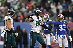 during the NFL game between The Philadelphia Eagles and The New York Giants at MetLife Stadium in East Rutherford, NJ on Sunday, December 17th 2017. The Eagles won 34-29. (Brian Garfinkel/Philadelphia Eagles)