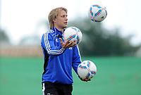Fotball<br /> Tyskland<br /> 10.01.2012<br /> Foto: Witters/Digitalsport<br /> NORWAY ONLY<br /> <br /> Per Ciljan Skjelbred<br /> Fussball Hamburger SV, Trainingslager Marbella 2012