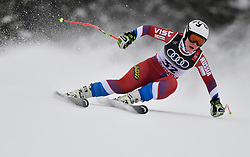 10.02.2019, WM Strecke, Aare, SWE, FIS Weltmeisterschaften Ski Alpin, Abfahrt, Damen, im Bild Iulija Pleshkova (RUS) // Iulija Pleshkova (RUS) in action during her run in the ladie's Downhill competition of FIS Ski World Championships 2019. WM Strecke in Aare, Sweden on 2019/02/10. EXPA Pictures © 2019, PhotoCredit: EXPA/ SM<br /> <br /> *****ATTENTION - OUT of GER*****