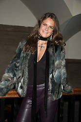 LADY JEMIMA HERBERT at the Veuve Clicquot Widow Series launch party hosted by Nick Knight and Jo Thornton MD Moet Hennessy UK held at The College, Central St.Martins, 12-42 Southampton Row, London on 29th October 2015.
