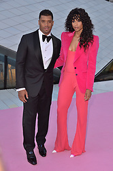 © Licensed to London News Pictures. 20/06/2018. London, UK. US singer Ciara and husband Russell Wilson attends the V&A Summer Party. Photo credit: Ray Tang/LNP