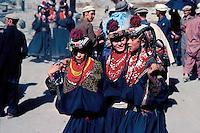 Pakistan, Khyber Pakhtunkhwa, Region de Chitral, Tribu Kalash, Fête de Utchao // Kalash ethnic group,Rumbur valley, Chitral area, Khyber Pakhtunkhwa, Pakistan, Summer festival (Utchao)