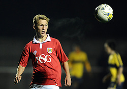 Bristol City's Jake Andrews  - Photo mandatory by-line: Joe Meredith/JMP - Mobile: 07966 386802 - 05/11/2014 - SPORT - Football - Oxford - Loop Meadow Stadium - Oxford United v Bristol City - FA Youth Cup