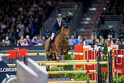 Lynch Denis, IRL, GC Chopin's Bushi<br /> Jumping International de Bordeaux 2020<br /> © Hippo Foto - Dirk Caremans<br />  08/02/2020