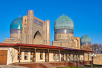 Ouzbekistan, Samrakand, classe patrimoine mondial de l Unesco, Mosquee Bibi Khanoum // Uzbekistan, Samarkand, Unesco World Heriatge, Bibi Khanoum mosque