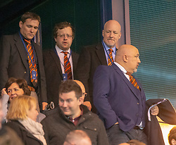 Dundee United's new owners Scot and Mark Ogram. Falkirk 1 v 1 Dundee United, Scottish Championship game played 23/2/2019 at The Falkirk Stadium.