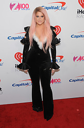 Z100's Jingle Ball 2018 at Madison Square Garden in New York City on December 7, 2018. CAP/MPI/JP ©JP/MPI/Capital Pictures. 07 Dec 2018 Pictured: Meghan Trainor. Photo credit: JP/MPI/Capital Pictures / MEGA TheMegaAgency.com +1 888 505 6342