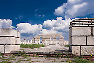 Ruins of capital of First Bulgarian Empire