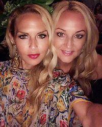 """Rachel Zoe releases a photo on Instagram with the following caption: """"Me and my \ud83d\udc97@pamelaeverose #sistersforever #summer2017 \ud83d\ude4f\ud83c\udffb\ud83d\udc6fxoRZ"""". Photo Credit: Instagram *** No USA Distribution *** For Editorial Use Only *** Not to be Published in Books or Photo Books ***  Please note: Fees charged by the agency are for the agency's services only, and do not, nor are they intended to, convey to the user any ownership of Copyright or License in the material. The agency does not claim any ownership including but not limited to Copyright or License in the attached material. By publishing this material you expressly agree to indemnify and to hold the agency and its directors, shareholders and employees harmless from any loss, claims, damages, demands, expenses (including legal fees), or any causes of action or allegation against the agency arising out of or connected in any way with publication of the material."""