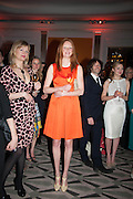 ALEXIA INGE; OLIVIA INGE; MICHAEL ACTON SMITH; KATHRYN PARSONS;  The Veuve Clicquot Business Woman Of The Year Award, celebrating women's excellence in business and commitment to sustainability. Claridge's, Brook Street, London, 22 April 2013