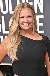 Nancy O'Dell at the 75th Golden Globe Awards held at the Beverly Hilton in Beverly Hills, CA on January 7, 2018.<br /><br />(Photo by Sthanlee Mirador)
