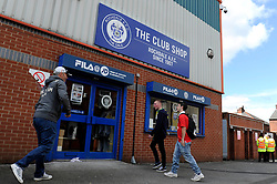 Rochdale club shop, Spotland Stadium - Photo mandatory by-line: Dougie Allward/JMP - Mobile: 07966 386802 23/08/2014 - SPORT - FOOTBALL - Manchester - Spotland Stadium - Rochdale AFC v Bristol City - Sky Bet League One