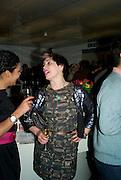 SARAH HARTLAND; LEAH PRENTICE, The Hayward Gallery 40th birthday Gala. hayward Gallery. South Bank. 9 July 2008 *** Local Caption *** -DO NOT ARCHIVE-© Copyright Photograph by Dafydd Jones. 248 Clapham Rd. London SW9 0PZ. Tel 0207 820 0771. www.dafjones.com.