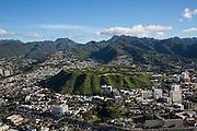 Punchbowl, National Cemetary of the Pacific,Honolulu, Oahu, Hawaii