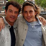 NLD/Amsterdam/20050808 - Deelnemers Sterrenslag 2005, Jurgen Smit en Lodewijk Hoekstra