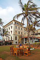 The Galle Face Hotel, founded in Colombo, Sri Lanka in 1864 is the oldest hotel east of the Suez.  The hotel was originally built by four British entrepreneurs in 1864. Its name derives from the stretch of lawn which it faces, known as the Galle Face Green. It began as a Dutch villa called Galle Face House.  Famous guests have included Prince Philip, Roger Moore, Richard Nixon, Lord Mountbatten and Japanese Emperor Hirohito.