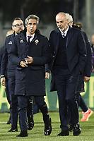 Firenze 22-04-2017 Stadio Artemio Franchi Football Calcio Serie A 2016/2017 Fiorentina - Inter / foto Daniele Buffa/Image Sport<br /> Paulo Sousa Fiorentina, Stefano Pioli Inter