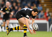 Wycombe. GREAT BRITAIN,  Tom VOYCE collects the loose ball, during the, Guinness Premiership game between, London Wasps and Leicester Tigers on 25/11/2006, played at  Adams<br /> <br />  Park, ENGLAND. Photo, Peter Spurrier/Intersport-images]