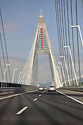 Eastern Europe, Hungary, Budapest, North motorway bridge
