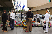 Yitzhak Rabin memorial, on the tenth year of his assassination, Tel aviv Israel November 2005