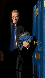 "© London News Pictures. 17/10/2013 . London, UK. MP ANDREW MITCHELL leaving his home in North East London. Three police officers have apologised for ""poor judgement"" in talking to the media following meeting with Andrew Mitchell. Photo credit : Ben Cawthra/LNP"