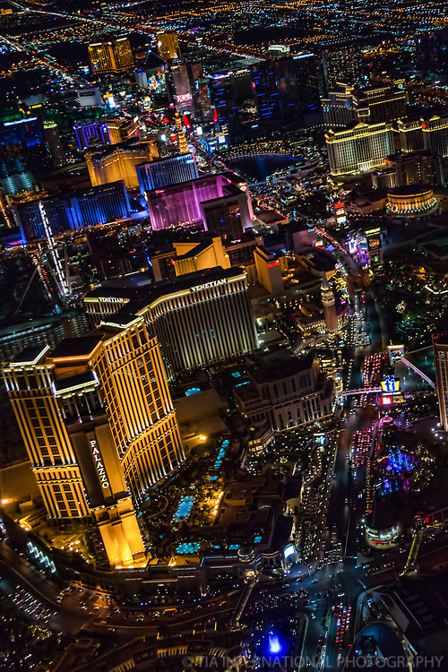 Sands Avenue & Las Vegas Boulevard Intersection @ Palazzo Hotel