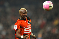 FOOTBALL - FRENCH CHAMPIONSHIP 2011/2012 - L1 - STADE RENNAIS v OLYMPIQUE MARSEILLE - 29/01/2012 - PHOTO PASCAL ALLEE / DPPI - TONGO HAMED DOUMBIA(REN)