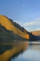 Owyhee Lake,  Leslie Gulch in the Owyhee Uplands of SE Oregon