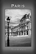 This is the entrance to the Sully Wing of the Louvre. This poster is  individuallly printed, to order,  on luster poster-weight paper. Price is $50 and can be paid by mail or by Paypal. Order using the Contact Form on this website.