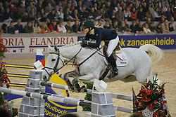 Lund Tina (DEN) - Carola<br /> CSI-W Mechelen 2008<br /> Photo © Dirk Caremans