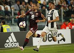 May 3, 2019 - Turin, ITA, Italy - Lorenzo De Silvestri during Serie A match between Juventus v Torino, in Turin, on May 3, 2019  (Credit Image: © Loris Roselli/NurPhoto via ZUMA Press)