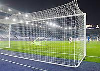 Football - 2020 / 2021 Europa League - Round of 32 - Second Leg - Leicester City vs Slavia Prague - King Power Stadium<br /> <br /> Slavia Prague's Abdallah Sima scores his side's second goal.<br /> <br /> COLORSPORT/ASHLEY WESTERN