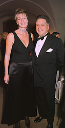 BARON & BARONESS STEPHEN BENTINCK at a dinner in London on 30th November 1998.MMK 83