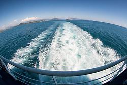 View from IIgoumenitsa-Corfu Ferry, Ionian Sea, Greece