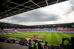 Opening ceremony during the EURO 2016 Qualifier Group E match between Slovenia and England at SRC Stozice on June 14, 2015 in Ljubljana, Slovenia. Photo by Grega Valancic