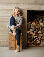 Abercrombie and Fitch design director Laura Larson for the reatil headquarters story in Capital Style. (Will Shilling/Capital Style) (Will Shilling/Capital Style)