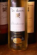 A bottle of R de Lucca Chardonnay Vino de El Colorado 2004 Bodega De Lucca Winery, El Colorado, Progreso, Uruguay, South America