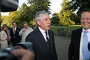 Jack Straw, Launch of Tina Brown's book 'The Diana Chronicles' hosted by Reuters. Serpentine Gallery. 18 June 2007.  -DO NOT ARCHIVE-© Copyright Photograph by Dafydd Jones. 248 Clapham Rd. London SW9 0PZ. Tel 0207 820 0771. www.dafjones.com.