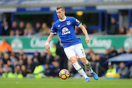 Morgan Schneiderlin of Everton in action. Premier league match, Everton v Sunderland at Goodison Park in Liverpool, Merseyside on Saturday 25th February 2017.<br /> pic by Chris Stading, Andrew Orchard sports photography.