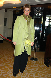 CLARE BALDING at The Sir Peter O'Sullevan Charitable Trust Lunch at The Savoy, London on 23rd November 2005.<br /><br />NON EXCLUSIVE - WORLD RIGHTS