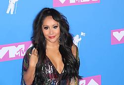 August 21, 2018 - New York City, New York, USA - 8/20/18.Nicole Polizzi (Snooki) at the 2018 MTV Video Music Awards at Radio City Music Hall in New York City. (Credit Image: © Starmax/Newscom via ZUMA Press)