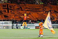 Illustration tifo Lorient / mascotte Lorient  - 20.12.2014 - Lorient / Nantes - 19eme journee de Ligue 1 -<br /> Photo : Vincent Michel / Icon Sport