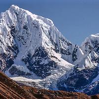 Cholatse Peak in the Khumbu region of Nepal's Himalaya.