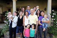 23 May 2015:  Max and Artyn Gardner family in Shady Canyon, CA.