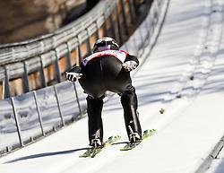 06.02.2011, Heini Klopfer Skiflugschanze, Oberstdorf, GER, FIS World Cup, Ski Jumping, Teamwettbewerb, Probedurchgang, im Bild Roman Koudelka (CZE) , during ski jump at the ski jumping world cup Trail round in Oberstdorf, Germany on 06/02/2011, EXPA Pictures © 2011, PhotoCredit: EXPA/ P. Rinderer
