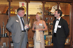 Cynthia Kempner and Guests at the Cocktail Reception for Yale University Athletics Blue Leadership 2009 Honorees. Kiphuth Trophy Room, Payne Whitney Gym on 20 November '09.