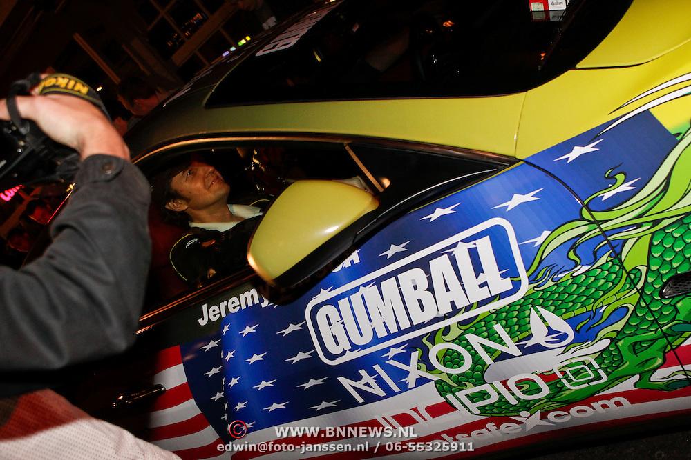 NLD/Amsterdam/20100501 - Gumball 3000 Amsterdam, Jeremy Hirsch